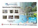 Di Jual Apartemen Casa Grande Residence - 3+1 BR, Luas 129m2, Hot Unit, Unfurnish, View Pool by ASIK PROPERTY