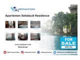 Di Jual Apartemen Setiabudi Residence - 3 BR, Luas 141m2, Full Furnish, Lokasi Strategis by ASIK PROPERTY
