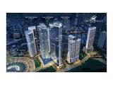 For Sale, New Apartment - The Newton - Ciputra World 2 Jakarta - Kuningan, Studio - Unfurnished