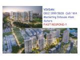 HARGA PERDANA Elevee Apartment Penthouse Residences & Ruko Elevee Promenade di Alam Sutera Tangerang