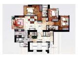 Dijual Apartemen The Peak 3+1BR / 4+1BR
