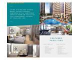 Jual Apartemen THE FRITZ - Kingland Avenue Tangerang - 2 BR 46,44m2 Furnished