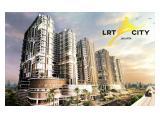 Apartemen Studio LRT City Jakarta Timur