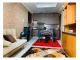 Jual Murah Sekali Apartemen Denpasar Residence Kuningan City - 1 BR & 1 BA Fully Furnished, Good Interior, City View