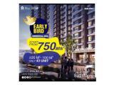 Apartment Sky House BSD+ beside AEON Mall, Installment up.to 120x , DP KPA 36x, DP 5%