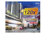 Apartment Sky House BSD+ sebelah AEON Mall & the BREEZE mall, Cicilan Developer 120x denga DP 5% saja, KPA DP cicil hingga 36x