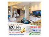 Apartment SKY HOUSE BSD+ (samping AEON MALL + seberang THE BREEZE +ICE BSD) - DP 5% - SEMIFURNISHED