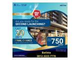 Opening tahap 2 KIOSK 05 Sept 2020 - RUKO Apartment Sky House BSD+ (Ruko Kiosk bawah apartment) 30 unit saja samping AEON MALL