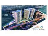 Dijual Apartemen TOD Prasada Mahata Tanjung Barat – Studio / 1BR / 2 BR strategis dengan kawasan CBD Simatupang, AEON MALL, dan Kampus Pendidikan.