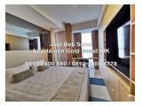 Dijual Apartemen Gold Coast PIK Pantai Indah Kapuk Tipe Studio, 1BR, 2BR, 3BR
