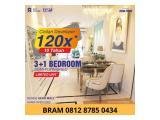 Apartment Sky House BSD+ lokasi Premium disamping mall AEON, the Breeze, ICE, Prasetiya Mulya & Digital Hub
