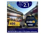 Sky House BSD+ Cicil Developer up to 10tahun (120x) beside AEON Mall & Breeze oudoor mall, ICE BSD