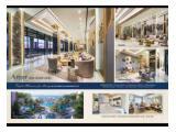 Dijual Apartemen East Coast Mansion diatas mall Pakuwon City 2 Surabaya - Studio Unfurnished