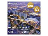 Dijual Apartment Sky House BSD+ Samping AEON Mall, The BREEZE & ICE BSD Cicilan Developer up to 120x DP Hanya 5% & KPA DP Bisa Cicil up to 36x