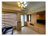 Jual Apartemen Sudirman Park, 3BR Corner, Full Furnished, Baru Renovasi, Lantai Tengah
