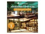 Apartemen Siap Huni di Kota BSD Tangerang Selatan, The Avenue ParkLand (Dp 0%) 1 / 2 BR Furnished & Unfurnished