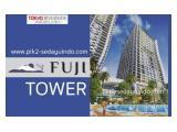 JUAL RUGI / OVER KREDIT Apartemen Tokyo Riverside Fuji Tower PIK 2 Jakarta Utara - 2 BR 36 m2 Unfurnished