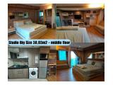 Dijual All Unit Studio, 1 BR & 2 BR