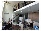 Dijual Apartemen Citylofts Sudirman - Tipe Boston Luas 104 m2 Unfurnished