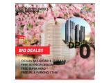 Dijual Apartemen Puri Orchard All type cukup 5 juta  Full interior / Furnish langsunv Huni tanpa DP dan Free Biaya Akad 3%