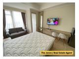 For Sale Menteng Park Apartment Low Floor, Studio Type. Nice, Clean and Comfortable Unit. Strategic location.