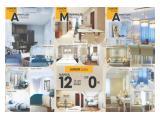 Dijual Puri Orchard Apartemen All Type 5 juta Langsung Huni Free tinggal 1 tahun,ko bisa?