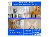 Apartment SKY HOUSE (samping AEON MALL + seberang THE BREEZE + ICE BSD) - DP 5% - SEMIFURNISHED