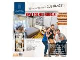 Apartemen Bintaro Parkview tanpa DP, full Furnis,free BPHTB, free Akad