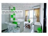 Dijual Murah Unit Apartemen Sentra Timur Full Furnish 2 BR - Cakung Jakarta Timur
