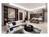 Regent Residence Jakarta @ Mangkuluhur City 2 hálószobás szoba luxus bútorokkal a Vinoti Living épületétől és a privát Sky medencétől