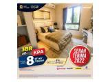 Jual Apartemen Sky House Bsd+,Samping Aeon Promo 3Bedroom Cicilan 120 Bulan Dp5% langsung ke developer