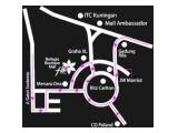 Dijual / sewa Apartemen Belagio Residence 3BR (104sqm) - Furnished