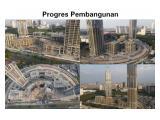 Progres Pembangunan Menara Jakarta Agustus 2021